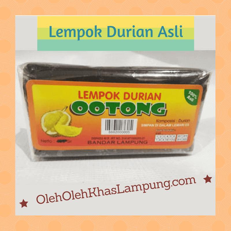 Lempok Durian Lampung